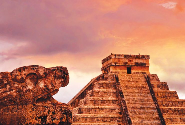 Zonas arqueológicas mayas