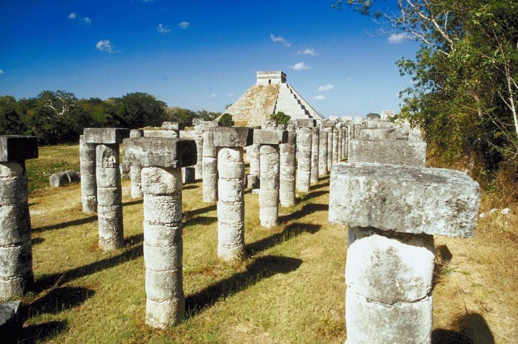 Grupo de las Mil Columnas Chichén Itzá