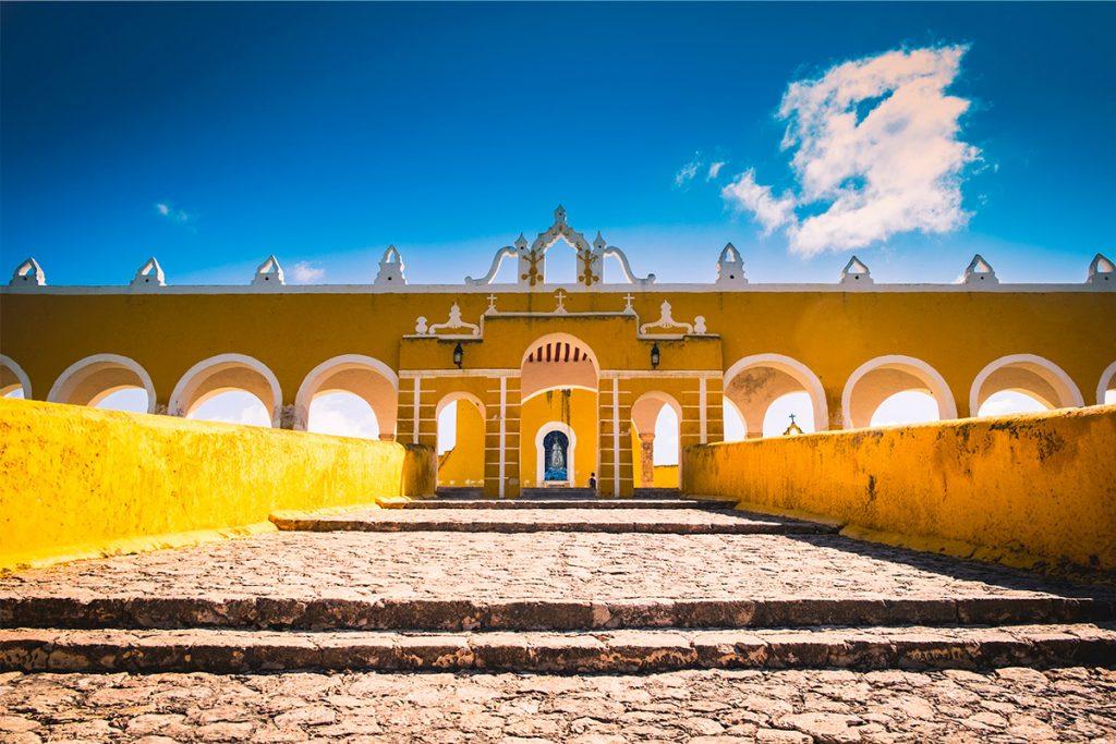 Izamal pueblo mágico de Yucatán, la ciudad amarilla